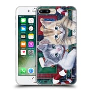 Official Christmas Mix Pets Jenny Newland Calendar Kittens Soft Gel Case for Apple iPhone 7 Plus
