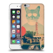 Official Ali Gulec With Attitude Cool Cat Soft Gel Case For Apple Iphone 6 Plus / 6S Plus