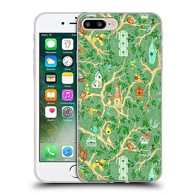 Official Anne Lambelet Patterns Birdhouse Soft Gel Case For Apple Iphone 7 Plus