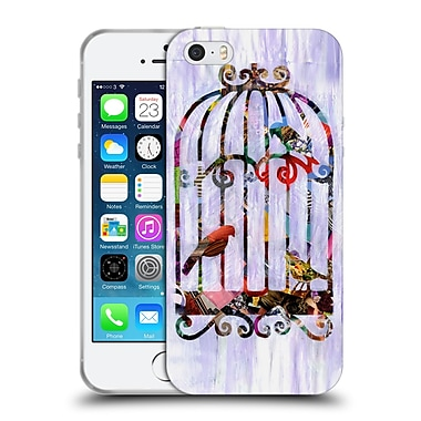 Official Artpoptart Collage Bird Cage Soft Gel Case For Apple Iphone 5 / 5S / Se