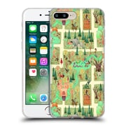 Official Anne Lambelet Patterns Enchanted Forest Pillow Soft Gel Case For Apple Iphone 7 Plus