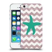 Official Artpoptart Chevron Starfish Soft Gel Case For Apple Iphone 5 / 5S / Se