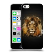 Official Aron Art Animals Lion Soft Gel Case For Apple Iphone 5C
