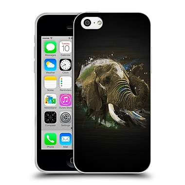 Official Aron Art Animals Elephant Soft Gel Case For Apple Iphone 5C