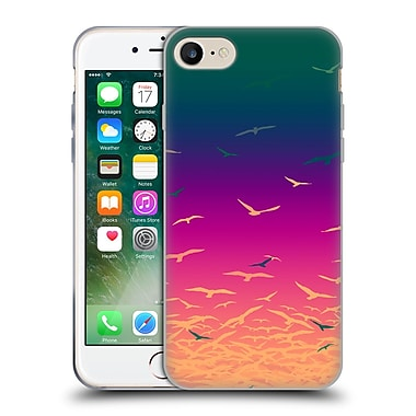 Official Amy Sia Animal Prints Flock Together Soft Gel Case For Apple Iphone 7