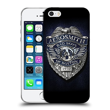 Official Aerosmith Logos Bad Boys Of Boston Soft Gel Case For Apple Iphone 5 / 5S / Se