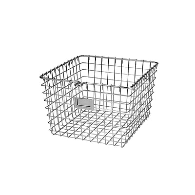 Spectrum Diversified Medium Wire Storage Basket, Chrome (47970)
