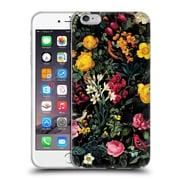 Official Burcu Korkmazyurek Birds and Floral Pink Soft Gel Case for Apple iPhone 6 Plus / 6s Plus