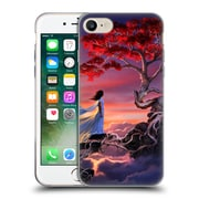 Official Daniel Conway Cherry Blossoms Sakura In The Sky Soft Gel Case for Apple iPhone 7