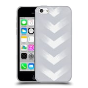 Official Caitlin Workman Modern Grey Point Soft Gel Case for Apple iPhone 5c