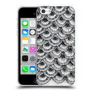 Official Caitlin Workman Modern Organic Burst Black Soft Gel Case for Apple iPhone 5c