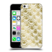 Official Caitlin Workman Modern Organic Burst Gold Soft Gel Case for Apple iPhone 5c