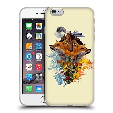 Official Burcu Korkmazyurek Animals Fox Soft Gel Case for Apple iPhone 6 Plus / 6s Plus