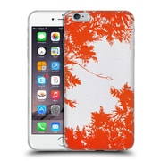 Official Caitlin Workman Organic Spring Night's Sky Red Soft Gel Case for Apple iPhone 6 Plus / 6s Plus