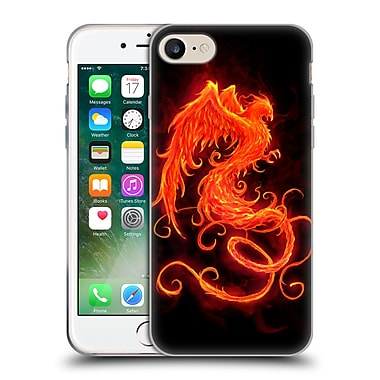 Official Christos Karapanos Phoenix On Fire Soft Gel Case for Apple iPhone 7