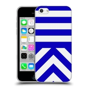 Official Caitlin Workman Modern Blue 03 Soft Gel Case for Apple iPhone 5c
