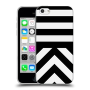 Official Caitlin Workman Modern Black 03 Soft Gel Case for Apple iPhone 5c