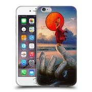 Official Daniel Conway Red Umbrella Stone Hand Soft Gel Case for Apple iPhone 6 Plus / 6s Plus