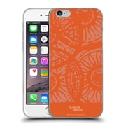 Official British Museum Community and Nurture Orange Stamps Soft Gel Case for Apple iPhone 6 / 6s