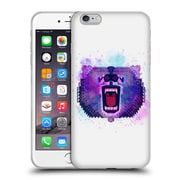 Official Chobopop Animals Lilac Geometric Bear Soft Gel Case for Apple iPhone 6 Plus / 6s Plus