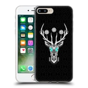 Official Chobopop Animals Silver Stag Soft Gel Case for Apple iPhone 7 Plus