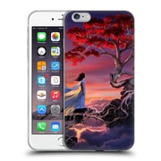 Official Daniel Conway Cherry Blossoms Sakura In The Sky Soft Gel Case for Apple iPhone 6 Plus / 6s Plus