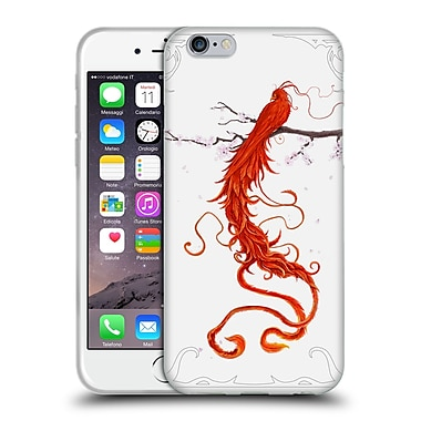 Official Christos Karapanos Phoenix 2 Bird Soft Gel Case for Apple iPhone 6 / 6s