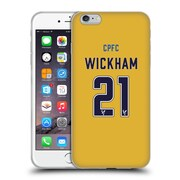 Official Crystal Palace FC 2016/17 Players Away Kit Connor Wickham Soft Gel Case for Apple iPhone 6 Plus / 6s Plus