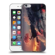 Official Daniel Conway Cherry Blossoms Scorched Earth Full Soft Gel Case for Apple iPhone 6 Plus / 6s Plus