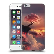 Official Daniel Conway Cherry Blossoms Scorched Earth Soft Gel Case for Apple iPhone 6 Plus / 6s Plus