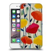 Official Carrie Schmitt Florals Cheerful Poppies Soft Gel Case for Apple iPhone 6 / 6s