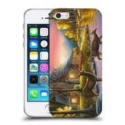 Official Chuck Black Cabin River's Crossing Soft Gel Case for Apple iPhone 5 / 5s / SE