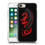 Official Christos Karapanos Dragons Master Red Soft Gel Case for Apple iPhone 7