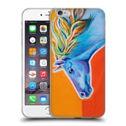Official DAWGART WILDLIFE Horse Like The Wind Soft Gel Case for Apple iPhone 6 Plus / 6s Plus
