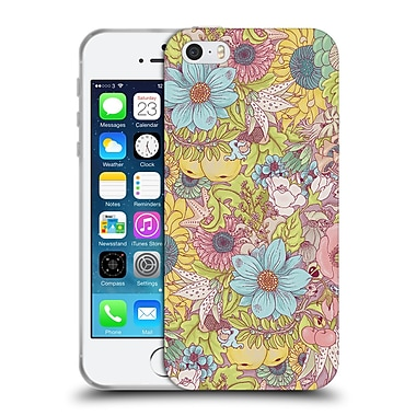 Official Celandine Wild Things The Wild Side Pastel Soft Gel Case for Apple iPhone 5 / 5s / SE