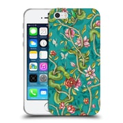 Official Celandine Wild Things Morning Song Turquoise Soft Gel Case for Apple iPhone 5 / 5s / SE