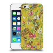 Official Celandine Wild Things Morning Song Mustard Soft Gel Case for Apple iPhone 5 / 5s / SE