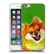 Official Dawgart Dogs 2 Pomeranian Tiger Soft Gel Case for Apple iPhone 6 Plus / 6s Plus