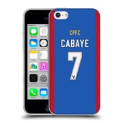 Official Crystal Palace FC 2016/17 Players Home Kit Yohan Cabaye Soft Gel Case for Apple iPhone 5c