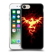 Official Christos Karapanos Dragons Mark Stamp Fire Soft Gel Case for Apple iPhone 7