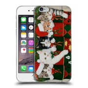 Official Christmas Mix Pets William Vanderdasson Kittens Soft Gel Case for Apple iPhone 6 / 6s