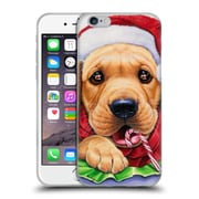 Official Christmas Mix Pets Jenny Newland Santa? Soft Gel Case for Apple iPhone 6 / 6s