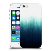 Official Caitlin Workman Patterns Teal Ombre Soft Gel Case for Apple iPhone 5 / 5s / SE
