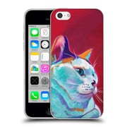 Official DAWGART CATS Pixie Girl Soft Gel Case for Apple iPhone 5c