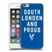 Official Crystal Palace FC The Eagles Royal Blue SLAP Soft Gel Case for Apple iPhone 6 Plus / 6s Plus