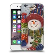 Official Christmas Mix Snowman William Vanderdasson Presents Soft Gel Case for Apple iPhone 6 / 6s