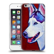 Official Dawgart Dogs Siberian Husky Soft Gel Case for Apple iPhone 6 Plus / 6s Plus
