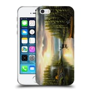 Official Chuck Black Landscape Memories With Dad Soft Gel Case for Apple iPhone 5 / 5s / SE