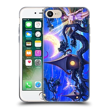 Official Christos Karapanos Fantasy Creatures Faerie Land Soft Gel Case for Apple iPhone 7