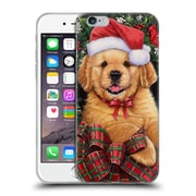 Official Christmas Mix Pets Jenny Newland Puppy Soft Gel Case for Apple iPhone 6 / 6s